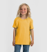 0235TC Tultex Youth Fine Jersey Tee Heather Mellow Yellow
