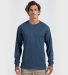 Tultex 0291TC Unisex Long Sleeve Tee Navy
