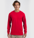 Tultex 0291TC Unisex Long Sleeve Tee Red