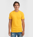 0202TC Tultex Unisex Tee with a Tear-Away Tag  Heather Mellow Yellow