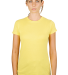 0213 Tultex Juniors Tee with a Tear-Away Tag Lemon (Discontinued)
