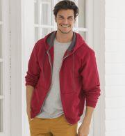 SF73R Fruit of the Loom 7.2 oz. Sofspun™ Full-Zip Hooded Sweatshirt