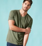 Next Level 6440 Premium Sueded V-Neck T-shirt