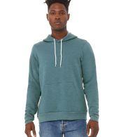 BELLA+CANVAS 3719 Unisex Cotton/Polyester Pullover Hoodie