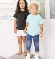 3413T Bella + Canvas Toddler Triblend Short Slee...