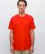 American Apparel 2001 Comparable Los Angeles Apparel 20001 100% Cotton Tee Red