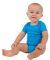 4001 American Apparel Infant Baby Rib Short Sleeve One Piece