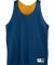 137 AUGUSTA YOUTH REVERSIBLE MINI MESH LEAGUE TANK Navy/ Gold