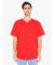 1403 American Apparel Thick Knit Jersey Baseball Tee Red (Discontinued)