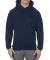Alstyle 1573 Pullover Fleece Hoodie Navy