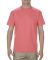 1701R Adult Ringspun Cotton T-Shirt Coral