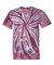Dyenomite 200TT Tone-on-Tone Pinwheel Short Sleeve T-Shirt Maroon
