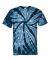 Dyenomite 200TT Tone-on-Tone Pinwheel Short Sleeve T-Shirt Navy