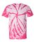 Dyenomite 200TT Tone-on-Tone Pinwheel Short Sleeve T-Shirt Pink