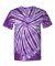 Dyenomite 200TT Tone-on-Tone Pinwheel Short Sleeve T-Shirt Purple