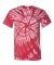 Dyenomite 200TT Tone-on-Tone Pinwheel Short Sleeve T-Shirt Red