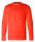 6100 Bayside Adult Long-Sleeve Cotton Tee Bright Orange