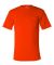 Bayside 1725 USA-Made 50/50 Short Sleeve T-Shirt with a Pocket  Bright Orange