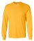 2400 Gildan Ultra Cotton Long Sleeve T Shirt  GOLD