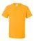 29 Jerzees Adult Heavyweight 50/50 Blend T-Shirt Gold