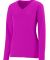Augusta Sportswear 1789 Girls' Long Sleeve Wicking T-Shirt Power Pink