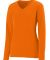 Augusta Sportswear 1789 Girls' Long Sleeve Wicking T-Shirt Power Orange
