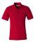 FeatherLite 0330 Platinum Pique Sport Shirt American Red