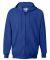 F280 Hanes® PrintPro®XP™ Ultimate Cotton® Full Zip Hooded Sweatshirt Deep Royal
