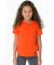 American Apparel 2105W Toddler Fine Jersey Short-Sleeve T-Shirt ORANGE