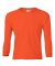 2400B  Gildan Youth 6.1 oz. Ultra Cotton® Long-Sleeve T-Shirt ORANGE