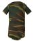4403 Code V Infant Baby Rib Camouflage Lap Shoulder Creeper Green Woodland