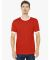 2410W Fine Jersey Ringer T-Shirt Red/White