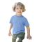 Toddler Tri-Blend Crewneck T-Shirt Tri-Blue