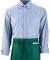 Augusta Sportswear 2700 Cafe Waist Apron Dark Green