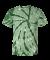 Dyenomite 200TT Tone-on-Tone Pinwheel Short Sleeve T-Shirt Forest
