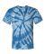 Dyenomite 200TT Tone-on-Tone Pinwheel Short Sleeve T-Shirt Royal