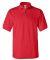 Gildan 3800 Ultra Cotton Pique Knit Sport Shirt RED