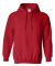 18500 Gildan Heavyweight Blend Hooded Sweatshirt RED