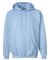 F170 Hanes® PrintPro®XP™ Ultimate Cotton® Hooded Sweatshirt Light Blue