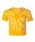 Dyenomite 20BTT Youth Tone-on-Tone Pinwheel Short Sleeve T-Shirt Gold