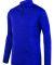 Augusta Sportswear 2955 Intensify Black Heather Quarter-Zip Pullover Purple