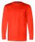 301 3055 Union-Made Long Sleeve T-Shirt with a Pocket Bright Orange
