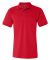 1000 Bayside Adult Cotton Pique Polo Red