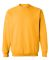 18000 Gildan 7.75 oz. Heavy Blend 50/50 Fleece Crew G180 GOLD