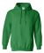 18500 Gildan Heavyweight Blend Hooded Sweatshirt IRISH GREEN