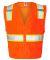 1163-1164 ML Kishigo - Solid Front Vest with Mesh Back Orange