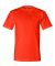 2905 Bayside Adult Union Made Cotton Tee Bright Orange