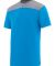 Augusta Sportswear 3056 Youth Challenge T-Shirt Power Blue/ Graphite Heather