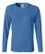 3014 Comfort Colors - Pigment-Dyed Ladies' Long Sleeve T-Shirt Royal Caribe