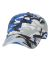 Valucap VC300 Adult Washed Dad Hat Royal Camo